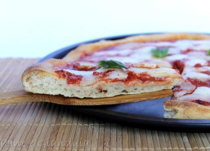 Pizza impasto con lievito di birra pane e gianduia for Pizza con planetaria