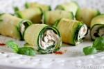 Rotolini di zucchina e robiola