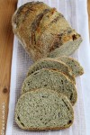 Pane di semola e farina di canapa